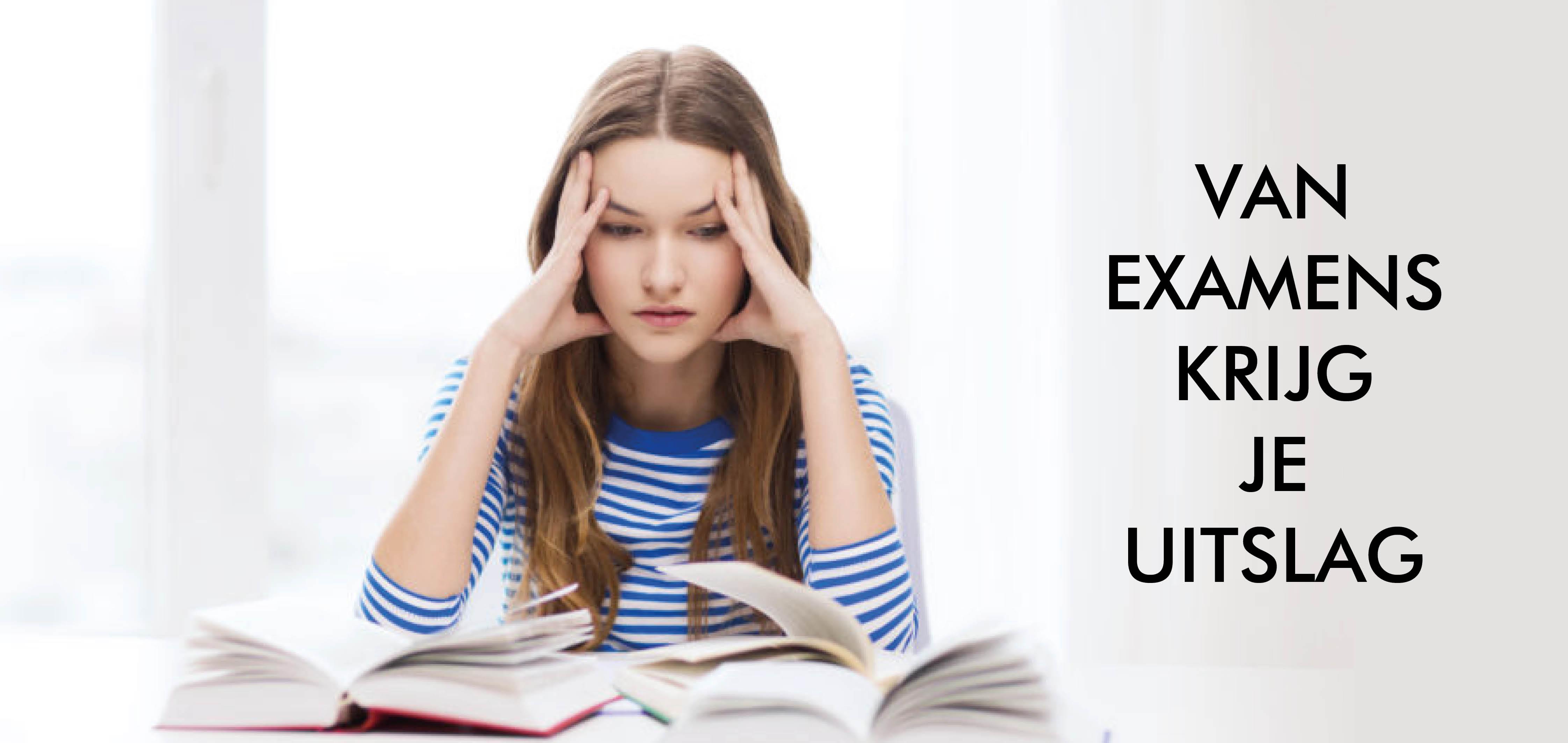 Bloed, Zweet en examens, Examenstress