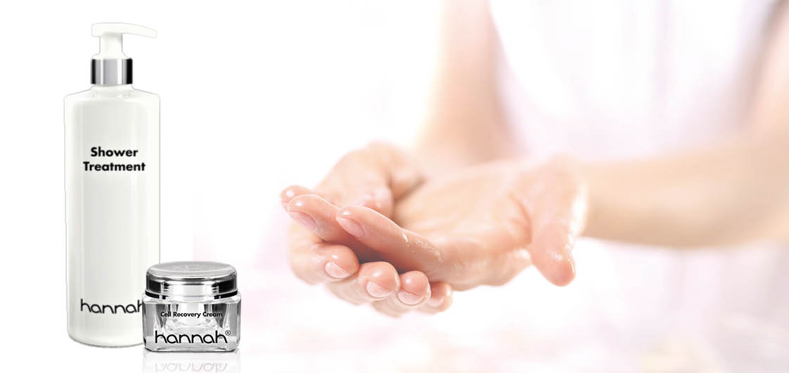 huidcoach Amber_gat in mijn hand_ Shower treatment_Cell Recovery Cream_hannah