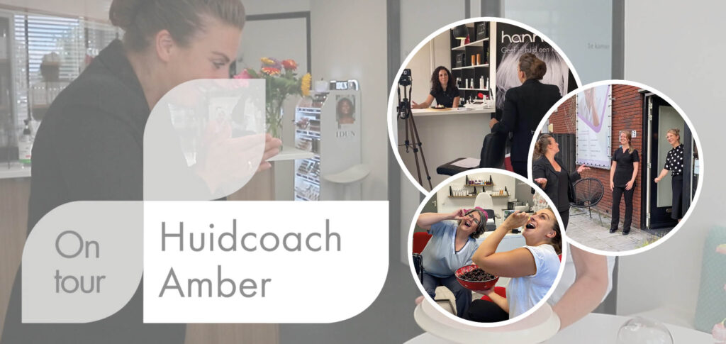 Huidcoach Amber_on tour_lockdown